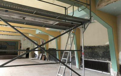 Weiternutzung der Heilstätte Harzgerode für kulturelle Zwecke durch den Einbau einer Heizung in den Theatersaal